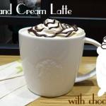 出会ったらラッキー!?超期間限定のコーヒー&クリームラテが素晴らしく美味しくてハマる( *´艸`)