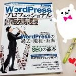 「WordPressプロフェッショナル養成読本」は何となくWordPressが触れるようになった人にもオススメの本!
