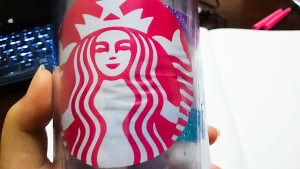 for Starbucks personalized tumbler template