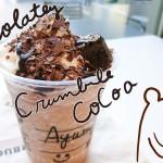 新宿スタバで先行発売『チョコラティ クランブル ココ フラペチーノ』はカスタマイズがオススメ!早速飲んできました(*´ω`*)