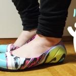 SATCでお馴染みパトリシア・フィールド×crocsのペッタンコ靴「cap toe House of Field flat」をセール価格でゲットしました!
