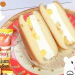 セブン限定! #ハニーポップチーズケーキ が美味しすぎる! #コールドストーン 初のアイスケーキサンド♪