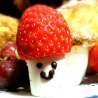 イチゴや鈴カステラでキノコのデコ!いっぱい作るとかわいい♪