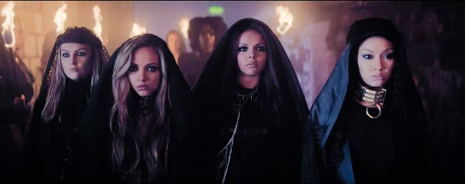 Salute/Little mixのVideoが登場!今までにないSEXYでCoolな4人!