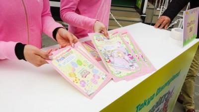 赤坂サカスのママサカスでエッグハント!台紙とシールを受付でもらいます。