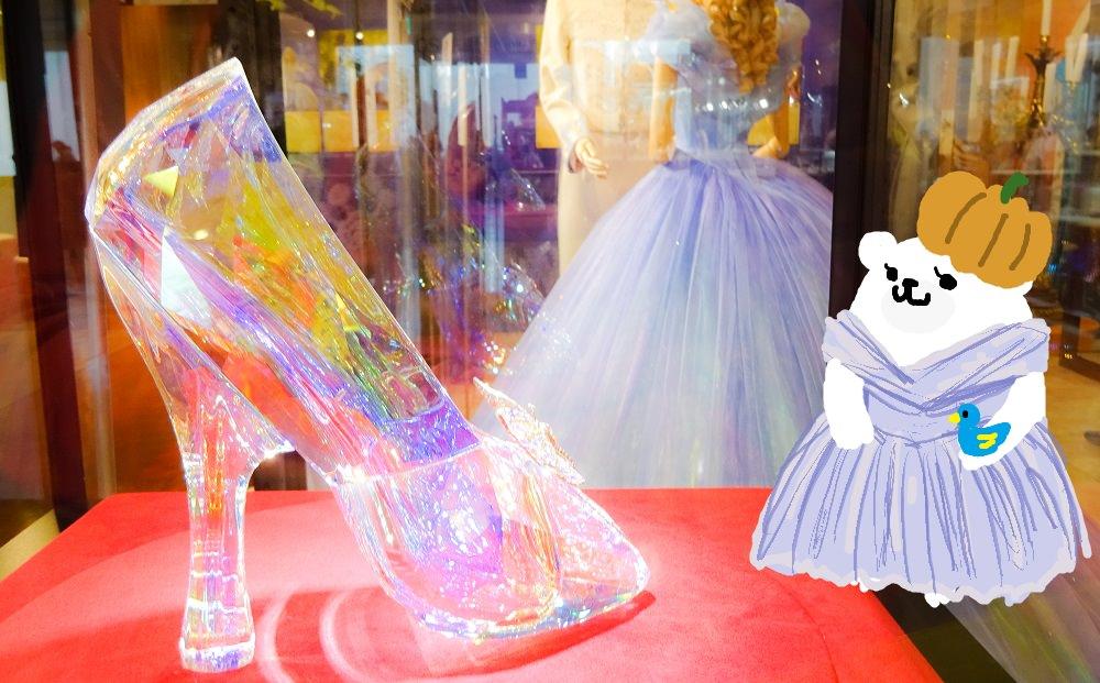 映画『シンデレラ』の衣装やガラスの靴など三越で展示♪カボチャの馬車で記念撮影!