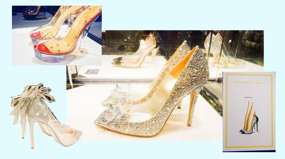もはや美術品!9名の有名デザイナーが作ったシンデレラのガラスの靴がステキ!@新宿 伊勢丹【画像大量】