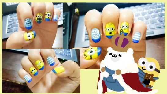 minion-nails-art