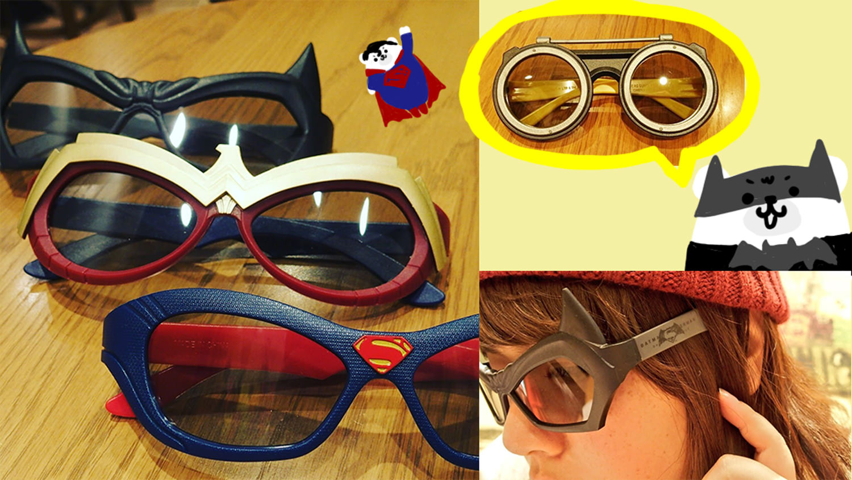 バットマンvsスーパーマンの3Dメガネとついでにep1のアナキン3Dメガネをユナイテッドシネマでゲットしてきました!