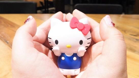 手のひらサイズのキティちゃん!