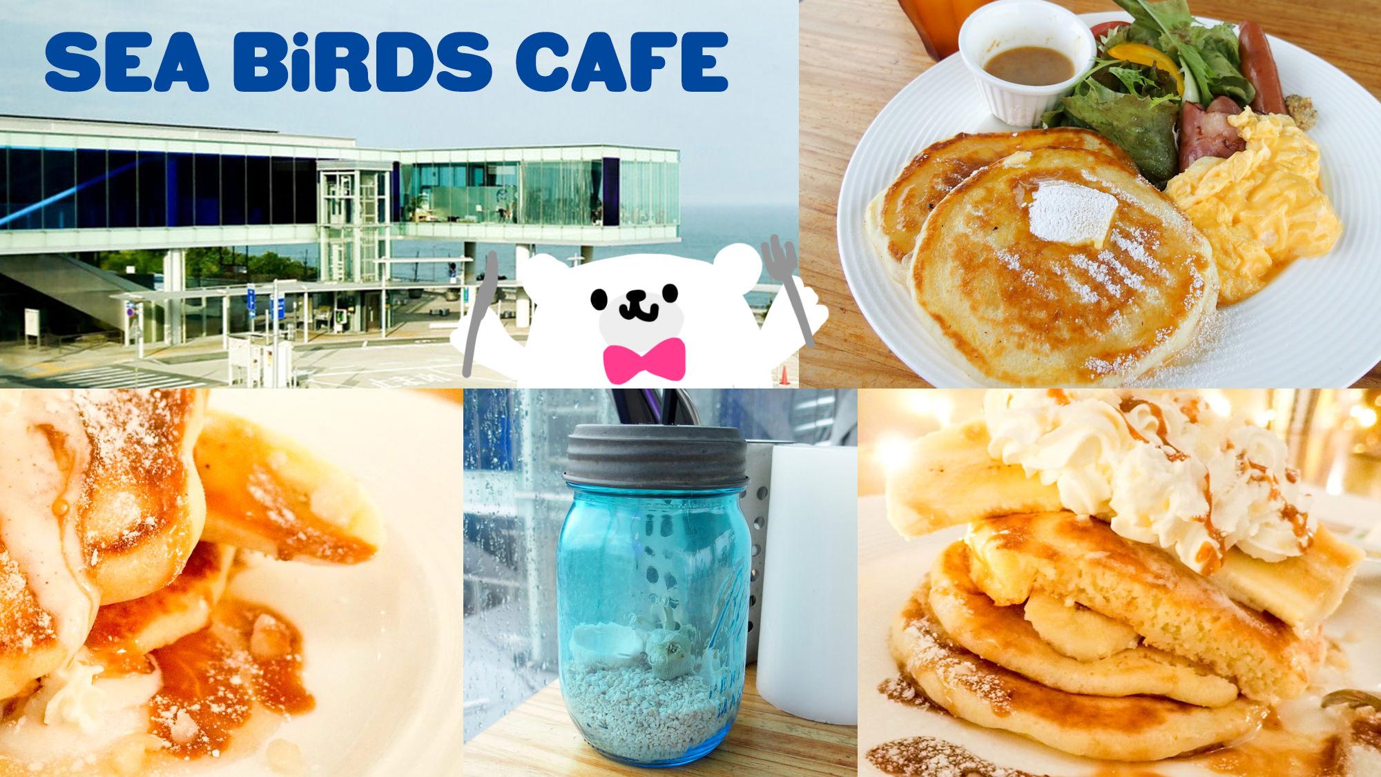 【茨城】日立駅直結!シーバーズカフェでハワイアンなもちふわパンケーキと絶景を堪能♪ #kenpoku