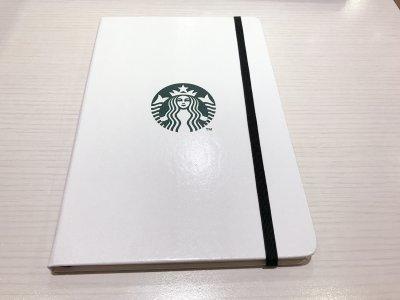 ジャーナルブックホワイト サイレンロゴデザインのノート