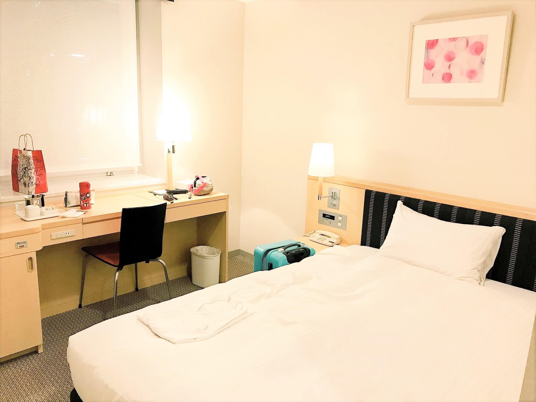 【仙台】リーズナブルで駅近。ライブラリーホテル仙台駅前に泊まってみた!