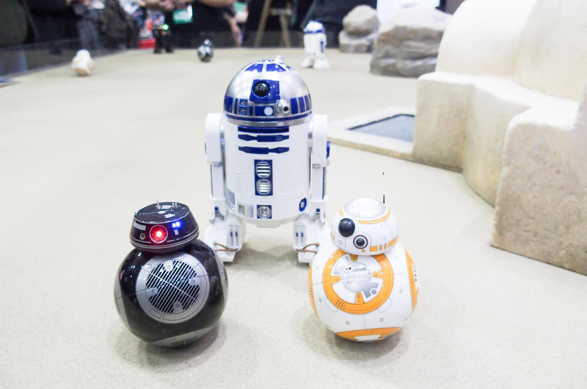 初めてコミコン行ってきた!R2-D2のラジコンかわいすぎるんですけど!!