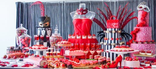 ヒルトン東京お台場のストロベリーブッフェ「いちごに恋するマスカレード」
